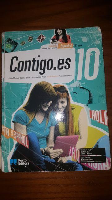 Contigo.es -Espanhol 10° ano Manual e Caderno de Exercícios