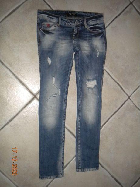 Spodnie jeansy A.M.N. Madness r.26