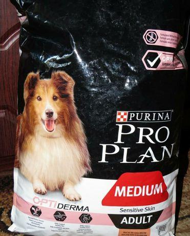 Корм для собак Pro Plan гипоаллергенный с лососем