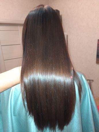 Кератиновое выпрямление волос Brazilian blowout Жк София