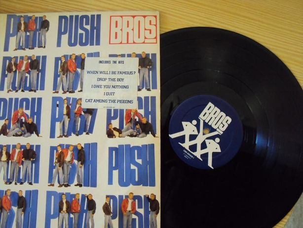 Disco vinil Push, 1988 - antiguidade