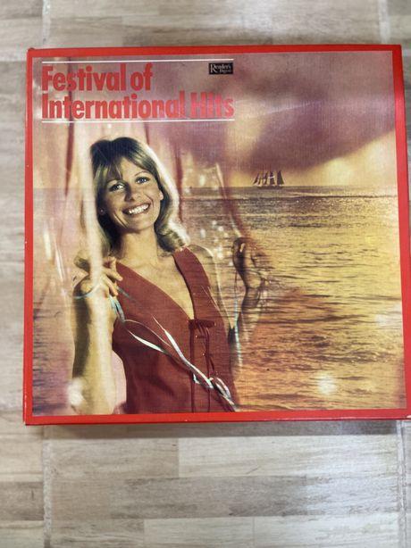 Pack 9 discos vinil Festival of International Hits