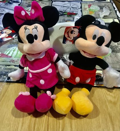 Minnie e Mickey Peluche NOVOS