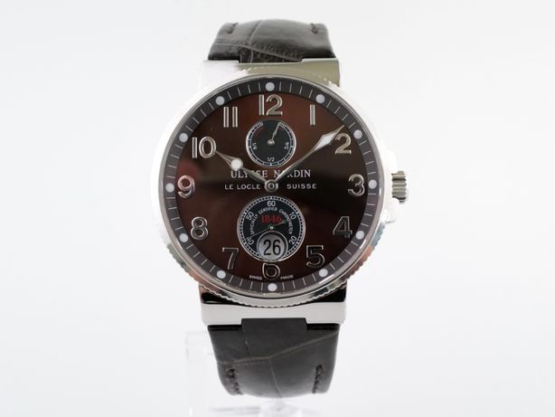 Мужские бу часы Ulysse Nardin Maxi Marine Chronometer