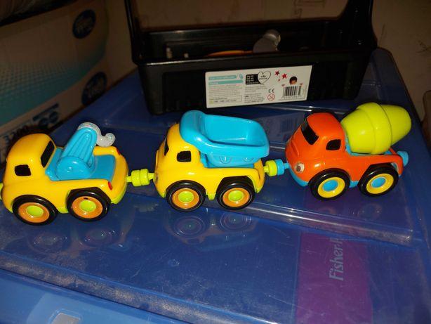 Сцпер надежные машинки-грузовички