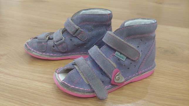Sandały pantofle profilaktyczne Danielki r.25