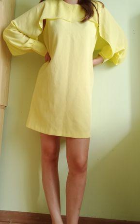 Żółta sukienka Zara