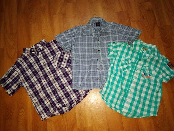 Рубашка на мальчика 2-3 года пакетом