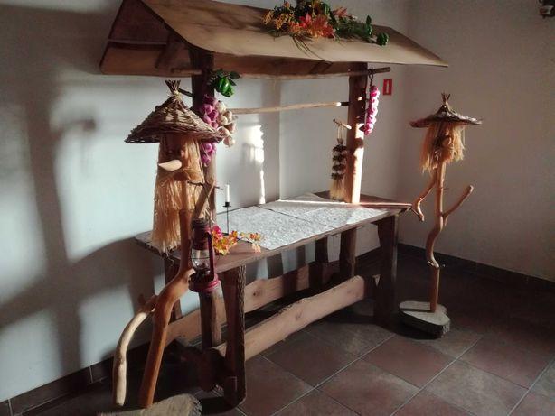 Stół wiejski, weselny, okolicznościowy