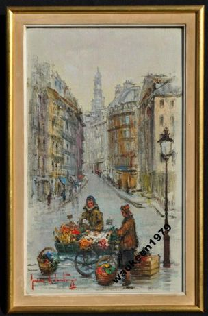Картина маслом, Франция 1963-й год