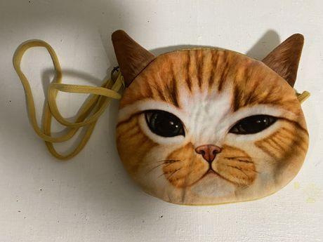 Сумка игрушка котик