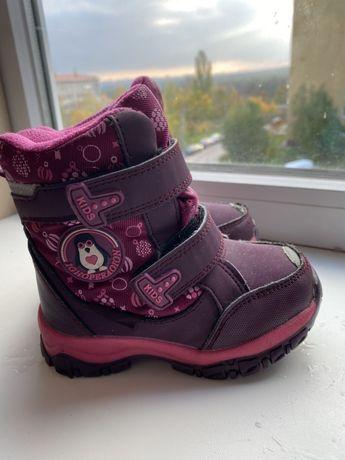 Термо ботинки для девочки Tom.M
