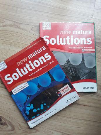 Podręcznik+ćwiczenia new matura solutions Oxford