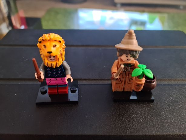 Lego minifigures Harry Potter prof Sprout Luna Lovegood