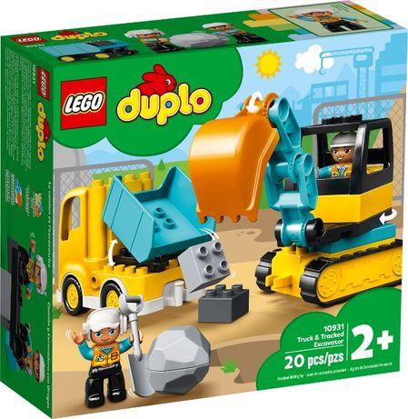 LEGO DUPLO Ciężarówka i koparka (10931)