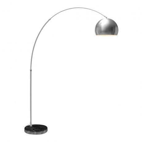 Lampa podłogowa Kolory Efekt łuku satynowego niklu E27 Polecam