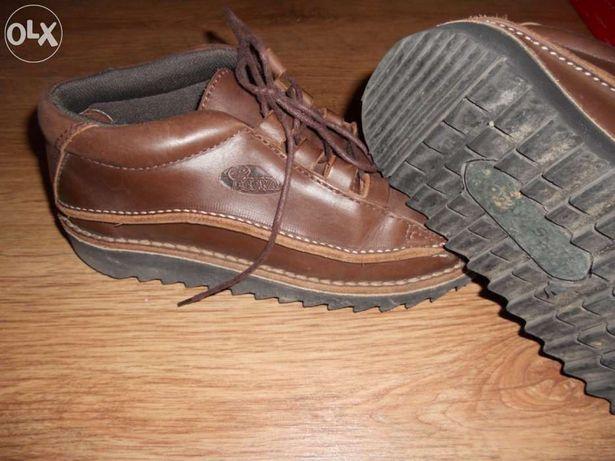 Sapatos em pele genuína - ecoway - tam. 37 unisexo