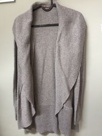 Szary sweter cardigan ORSAY