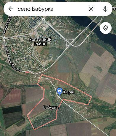 Участок под застройку село Бабурка 15 соток