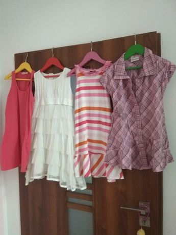 Sukienki i tunika roz 128
