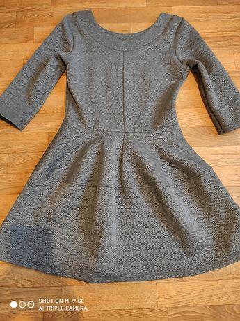 Pikowana sukienka z pianki