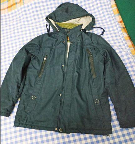 куртка демисезонная, удлиненная, подростковая (10-12 лет)