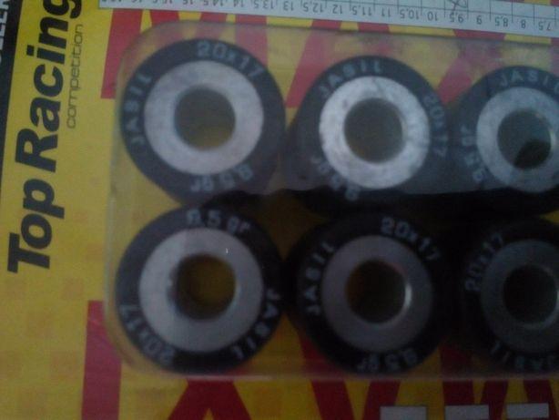 Ролики вариатора разм 20х17 мм 10,5; 9,5;8,5; 15,5, 1 5,14, 13, 12 грм