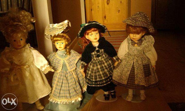 Lalki porcelanowe - piękne