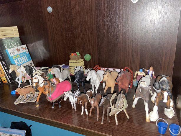 Konie schleich, collecta oraz mojo