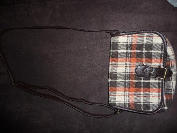 torba, torebka w kratę