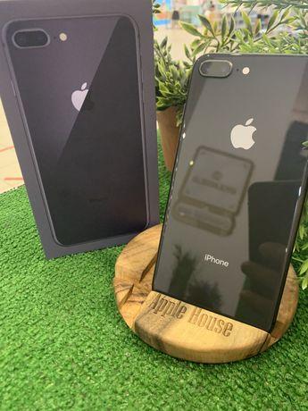 iPhone 8 plus + 64 space gray Neverlock Акб 95% Магазин Гарантия6мес