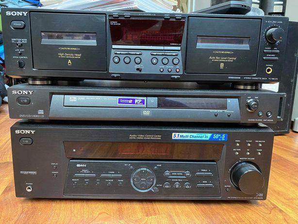 Wieża Sony STR-DE375 DVP-NS305 TC-WE475