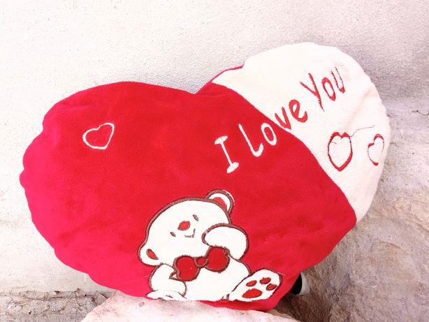 Almofada coração I love you