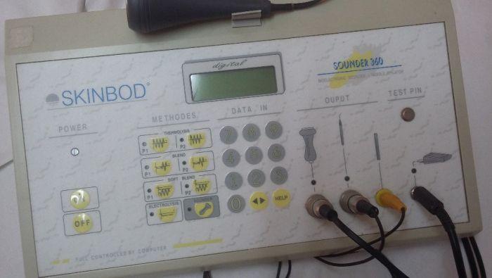 Máquina de Depilação Elétrica Profissional