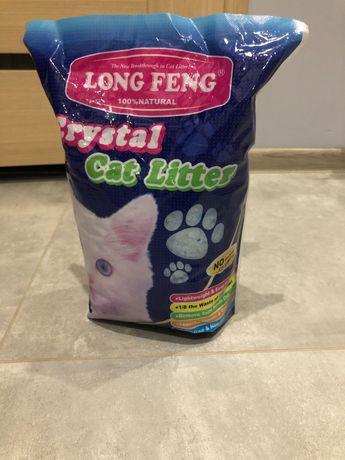 Żwirek silikonowy dla kota crystal cat litter 7 worków