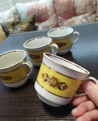 Чашка Барановка 60-е СССР винтаж сервиз редкая посуда фарфор бу
