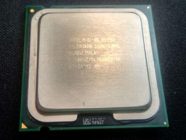 Процессор Intel® Celeron® E1200 socket 775 dual core б/у - 100руб.