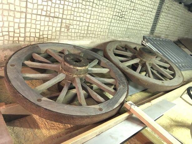 Rodas de madeira à melhor oferta