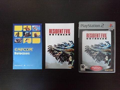 Resident Evil Outbreak gra PS2/Playstation2 wydanie PL - 100 % sprawna