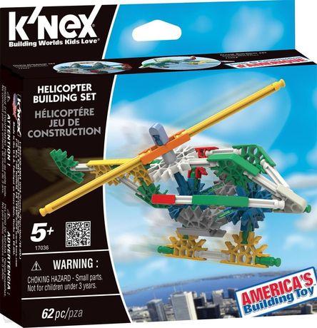 Klocki konstrukcyjne k'nex helikopter 62 el. knex