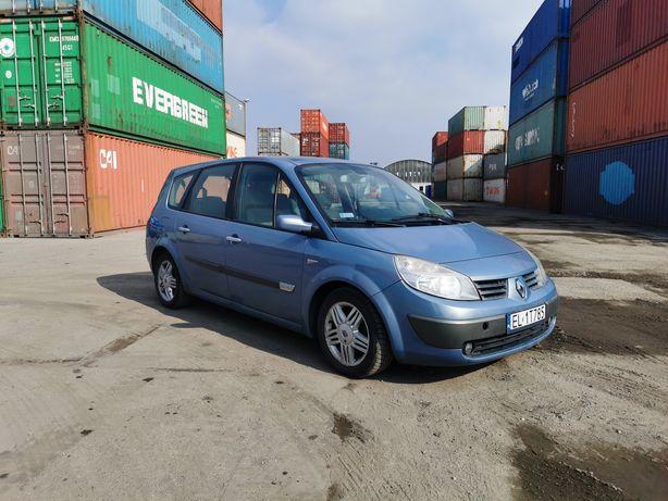 Renault Scenic II 2006 2.0b NAVI PANORAMA Full wersja
