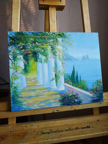 Картина маслом 40×50 см