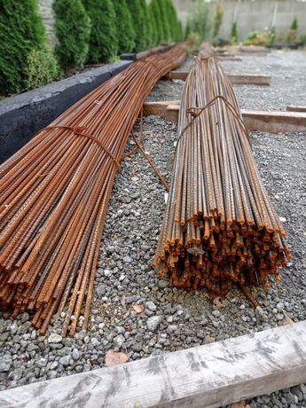 Pręty żebrowane drut zbrojeniowy stal zbrojeniowa