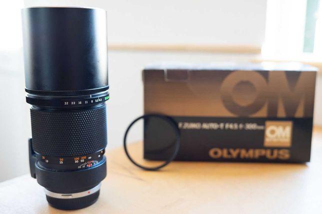 Olympus OM system F Zuiko Auto-T 4.5 300mm
