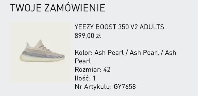 Adidas Yeezy 350 V2 Ash Pearl / 42