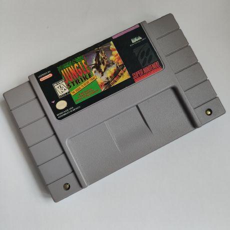 Kartridż Jungle Strike: The Sequel to Desert Gra Super Nintendo