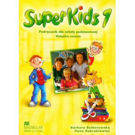 Superkids 1 Książka ucznia + CD Macmillan