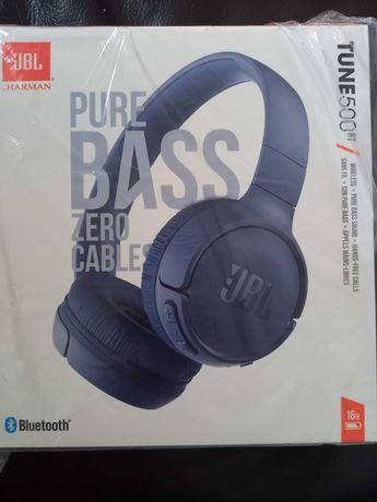 JBL słuchawki bezprzewodowe Tune 500 BT Nowe