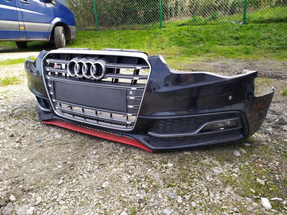 Audi S5 8T lift zderzak przedni kompletny grill kratki LZ9Y A5 Dolna Grupa - image 1
