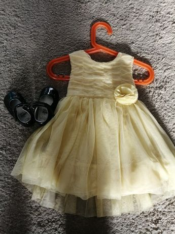 Zestaw Elegancka, wizytowa, święta, wesele, sukieneczka, tiul 74